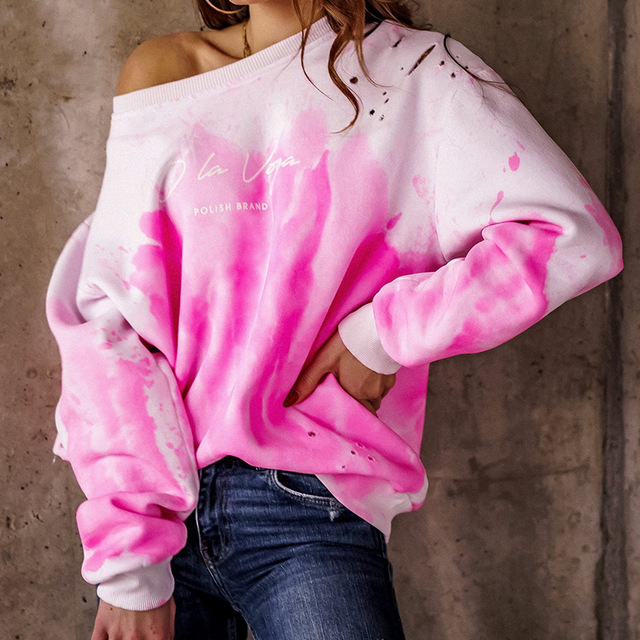2021 Spring Autumn Women Blouses Shirt Sweatshirts Casual O-Neck Women Tops and Blouse Loose Long Sleeve Print Shirts Pullovers 4