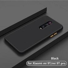 Роскошный противоударный матовый прозрачный чехол-накладка для телефона, чехол, чехол для xiaomi mi 9 t pro mi9t mi9 t 9tpro, силиконовый чехол для xiomi