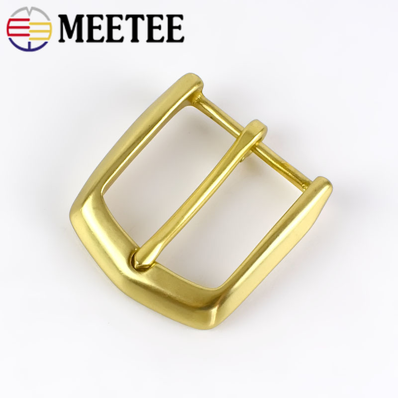 High Quality Solid Brass Men Belt Buckles Fashion Pin Buckles For Belt 38-39MM Men Women Jeans Accessories DIY Leather Craft