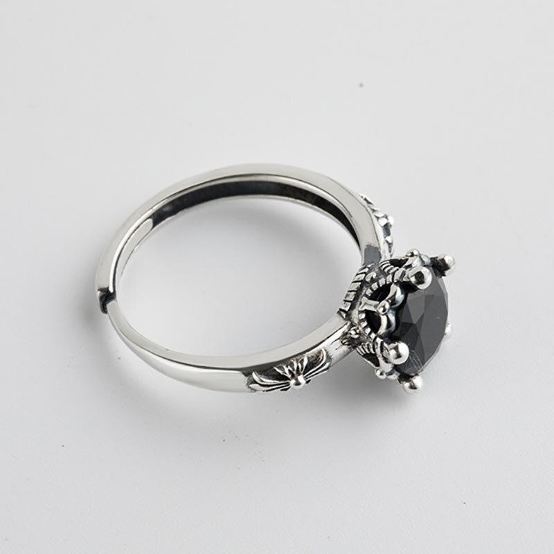 925 Sterling Silver Open Rings for Women 8