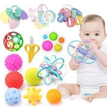 Juguetes Educativos para bebés, sonajeros de cama de 0 a 12 meses, mordedores para dientes, juguetes para desarrollar dulces para recién nacidos