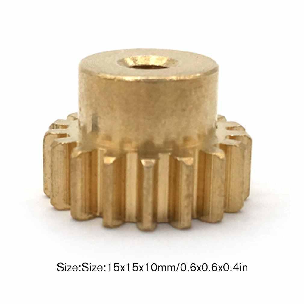 Roues de rechange de Module de roue de dent de vitesse conique d'engrenage de moteur en métal vitesse économiseuse de travail pour Wltoys 12428/12423 1/12 voiture de chenille de RC