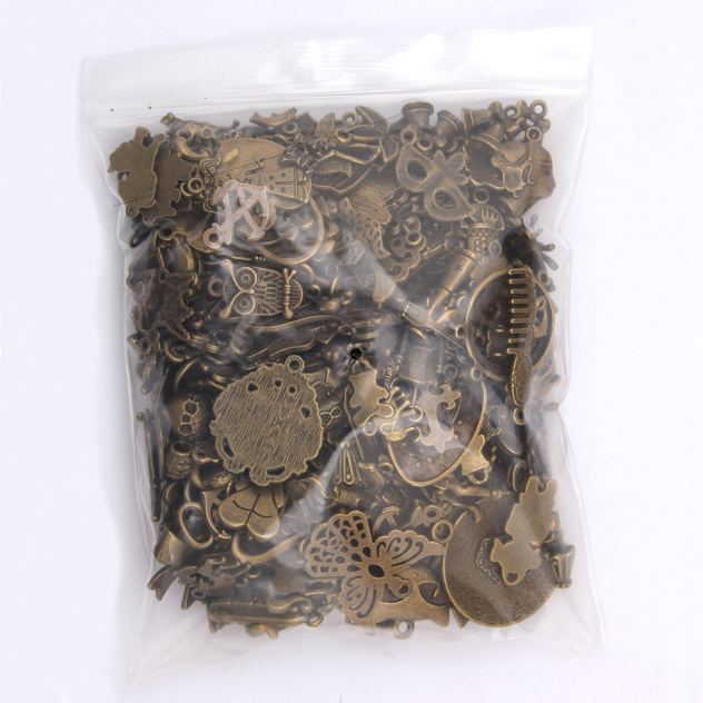50g 100g Mixed Charms Pendants Antique Bronze DIY Jewelry Making Vintage Bracelets Craft Metal Zinc Alloy DIY Accessories