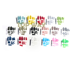 Image 3 - 1set Replacement ABXY L R D Pad Cross Button Full Button Set For Nintend DS Lite For NDSL Console Buttons Kit