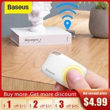 Baseus sans fil traqueur intelligent Anti-perte alarme traqueur clé trouveur enfant sac portefeuille trouveur APP GPS enregistrement Anti perte étiquette d'alarme