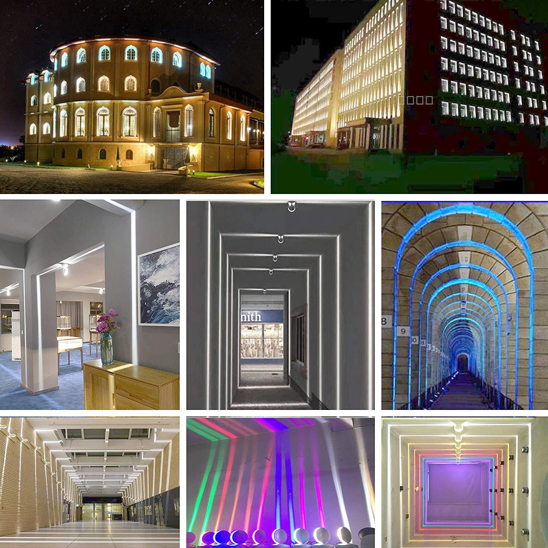 Hb697990f8f0d444abba35da28c205cadB Modern LED Ceiling Lights | Funky Ceiling Lights | 300-degree Deco light fixtures LED narrow window light 85-265V modern ceiling light for Storefront/Corridor/Hallway/Tunnel