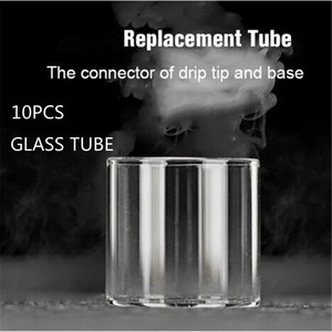 10PCS FATUBE glass tube for ADVKEN Manta RTA/CP 2 rta/cp3 RTA/BERSERKER MTL RTA 4.5ml tank