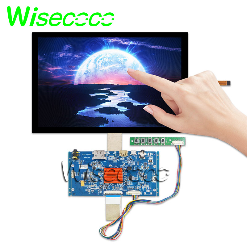 10.1 Inch 2560*1600 2K IPS LCD Screen Panel WITH TOUCH  HDMI  Controller Board For DIY Project 3d Printer VVX10T025J00