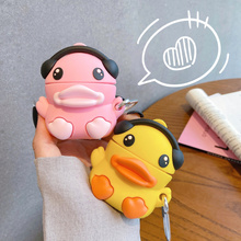 For Airpods 2 1 Case Silicone Stitch Cartoon Cover For Apple Airpods Case Cute Earphone 3D Headphone case Protective 3d lucky rat cartoon bluetooth earphone case for airpods pro cute accessories protective cover for apple air pods 3 silicone