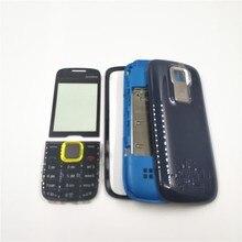 Coque complète pour Nokia 5130, avec couvercle arrière de la batterie et clavier anglais