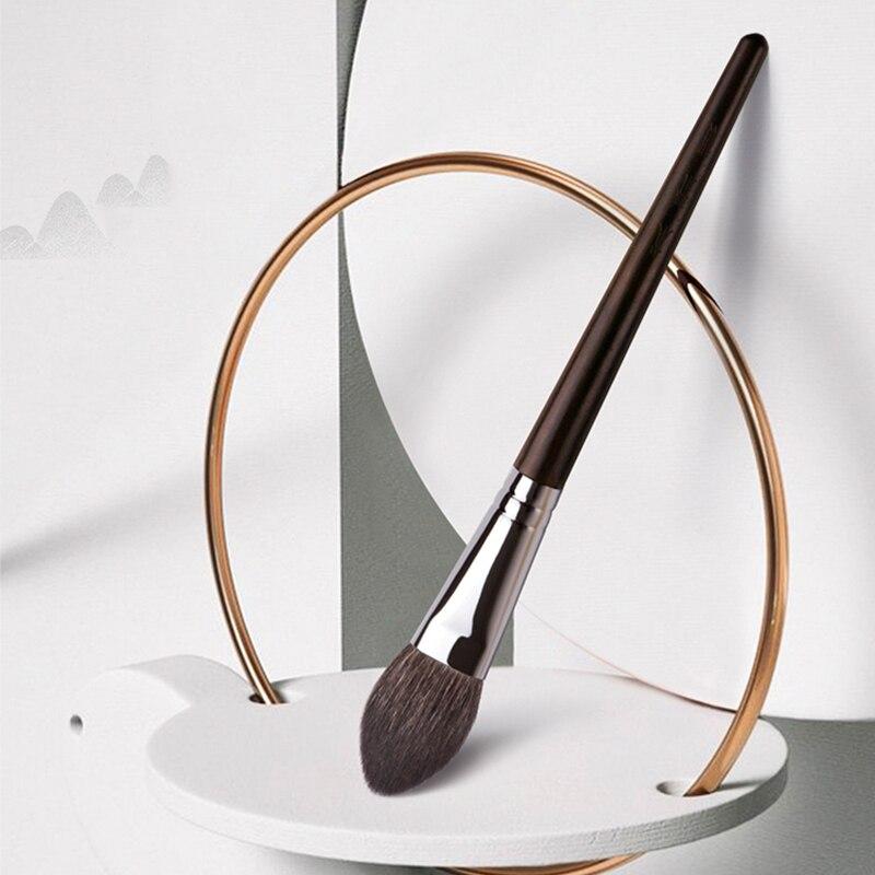 MyDestiny Makeup Brush-Ebony Professional High Quality Natural Fur Series-goat Hair Blush&detail Brush-heart Shape Cosmetic Tool