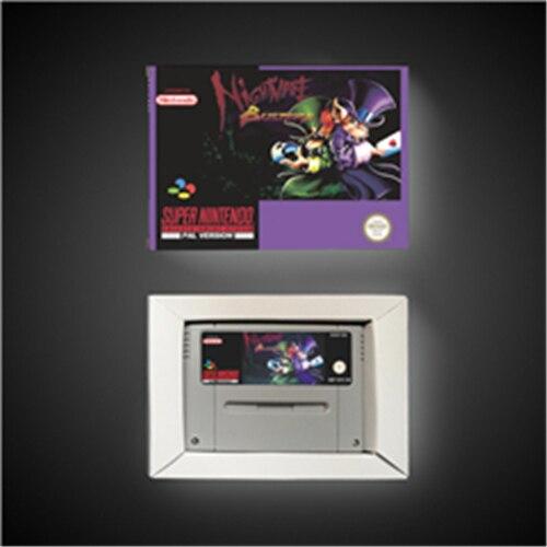 كابوس منتهكي EUR نسخة عمل بطاقة الألعاب مع صندوق البيع بالتجزئة