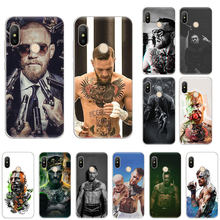 Conor Mcgregor boxing Silicone Soft phone Case For Xiaomi F1 9T 9SE 8 A2 Lite A1 A3 Go Mix3 Redmi K20 7A S2 Note 8T 4X 5 6 7 Pro(China)