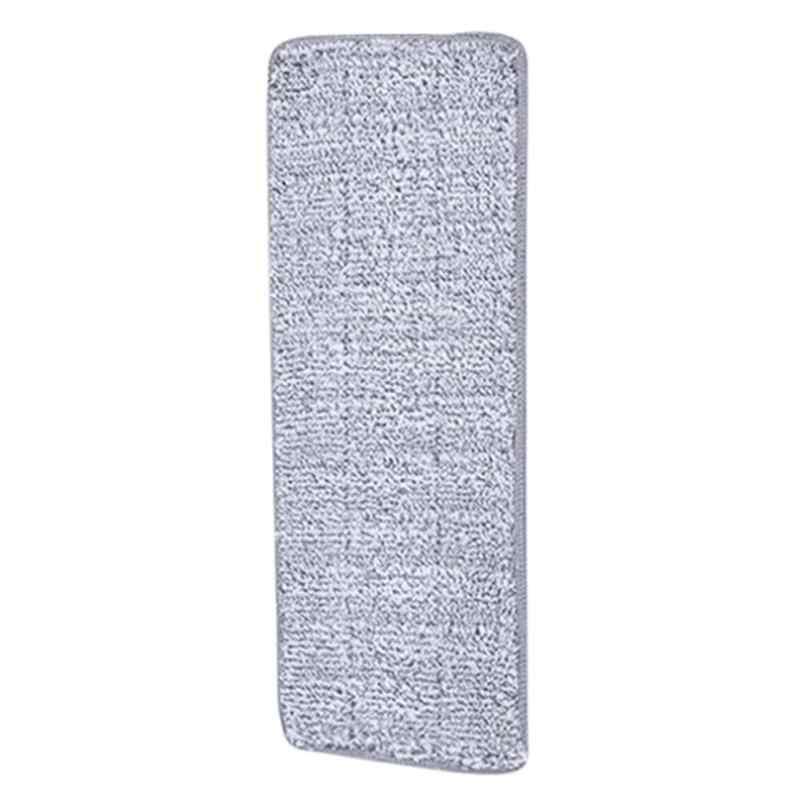 1PC Microfiber Pengganti Mop Pad Baru Pel Lantai Pembersih Pasta Kain Penutup Semprot Air Rumah Dapur Alat 33X12 Cm