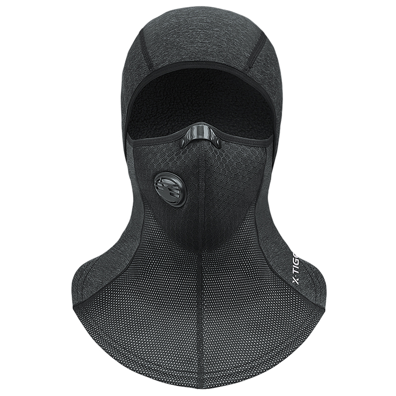 Winter Keep Warm Cycling Face Mask Windproof Skiing Cap Thermal Fleece Scarf Snowboard Shield Hat Skating Bicycle Headwear Cycling Face Mask     - title=