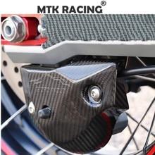 Motorcycle accessories carbon fiber rear deck cover for HONDA XADV300 X-ADV750 xadv1000 17-19 Rear caliper