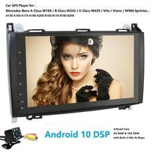 9 אינץ Android10.0 רכב לא DVD רדיו עבור מרצדס/בנץ/אצן/B200/W245/B170/w209/W169 פולקסווגן בעל מלאכה עם BT 4 3gwifi GPS רדיו 2GRAM