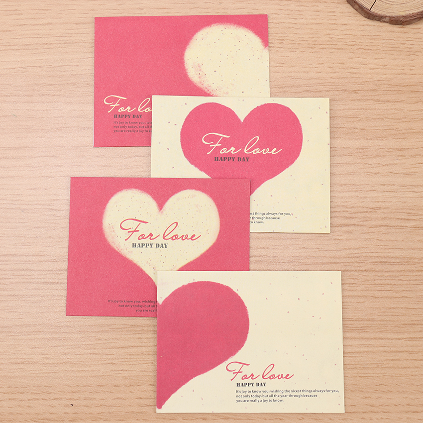 10PCS Paper Envelopes Vintage European Style Envelope Creative Love Heart Mini Small Envelopes For Card Scrapbooking Gift