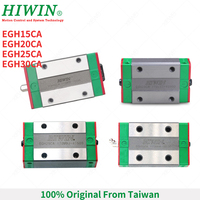 Free Shipping 100% original HIWIN EGH15CA EGH20CA EGH25CA EGH30CA linear narrow block Slider Carriage for EGR linear guide rail