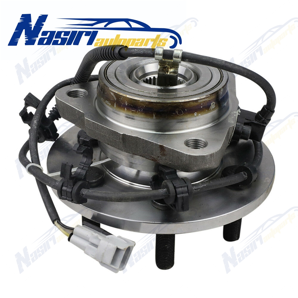 Front Hub & Bearing Driver Side Left LH For Dodge Pickup Dodge Dakota Durango 1997-2004 4x4 4WD W/ ABS