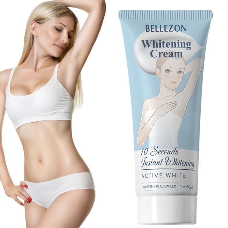 Body Whitening Creams Armpit Legs Knees Whitening Cream Eliminate Odor Fragrances Formula Antiperspirants Deodorants TSLM1
