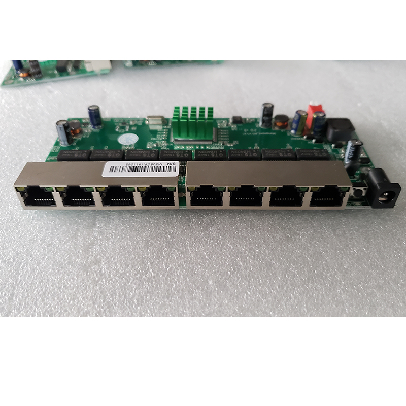 8 Port Gigabit Managed Switch Motherboard  Ethernet Switch With 8 Port 10/100/1000M VLAN