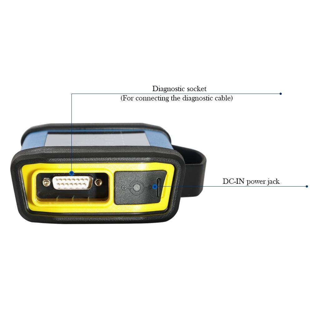 STARTEN X431 HD3 Heavy Duty Truck Diagnose Adapter für Launch X431 V + X431 Pro3 X431 PAD3 USB Bluetooth Volle umfassende