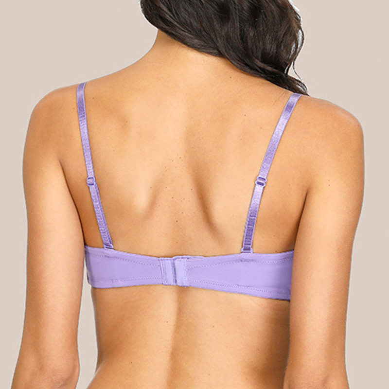 Womens Push Up Bra Sexy Lingerie Multiple ways Classic Feel Free To Switch Underwear Wedding Brassiere A B C D Cup 2