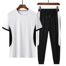 Мужская футболка с коротким рукавом повседневный спортивный