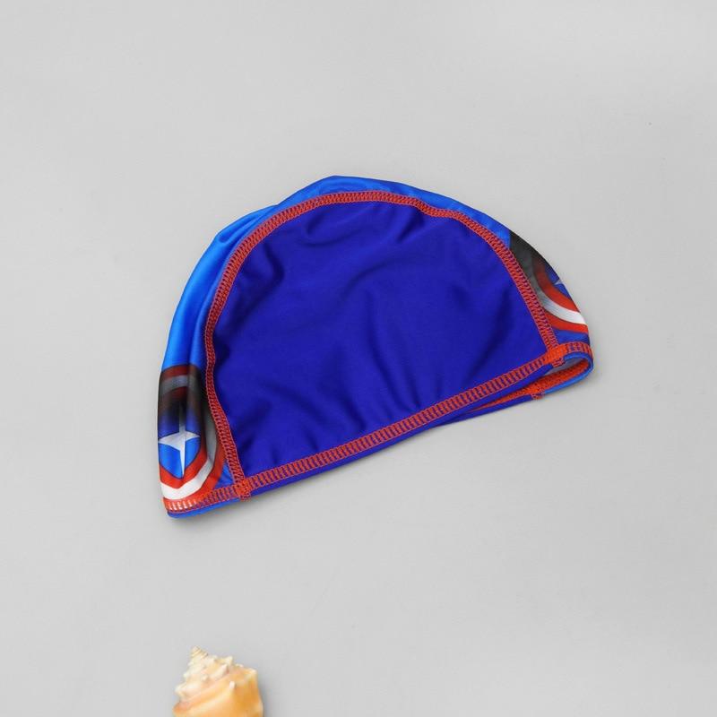 One-piece Swimsuit For Children BOY'S Children Age Of 3-5 America Captain Spider-Man Quick-Dry Warm Baby Swimwear Men's