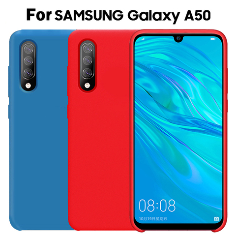 For Samsung A50 Case Silicone Protector shockproof Cover For Samsung Galaxy A70 A50 A30 A20 A10 Case Silicone Case Pakistan