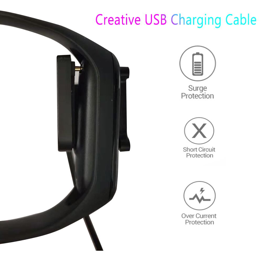 Charger Cable For XiaoMi Mi Band 4 NFC Disassembly Free Charger Adapter Wire Wristband Bracelet Mi Band 4 Mi4 USB Adapter Cable