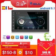 Hikity Android 2DIN Phát Thanh Xe Hơi GPS NAVI WIFI Đa Phương Tiện MP5 Người Chơi Autoradio 2 Din 7 Cảm Ứng Bluetooth FM âm thanh Xe Hơi