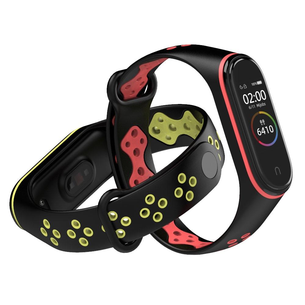 Mi Band 4 Strap Wrist Strap For Xiaomi Mi Band 3 Sport Silicone Bracelet For Xiaomi Mi Band 2 Band3 Smart Watch Bracelet
