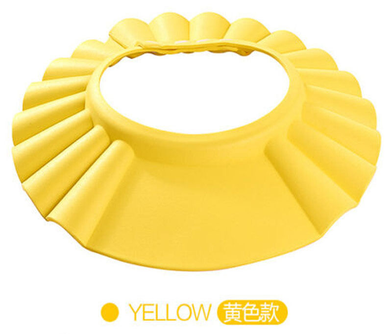 2020 Brand New Baby Children Kids Safe Shampoo Bath Bathing Shower Cap Hat Wash Hair Shield Adjustable Elastic Shampoo Cap