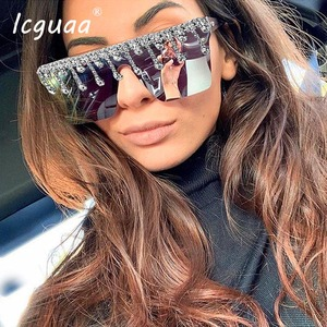 Fashion Square Sunglasses Women 2020 Who