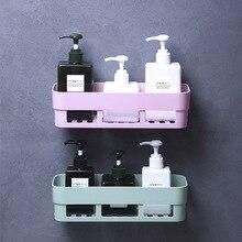 Storage Rack Organizer Wall Shower Shelf Basket Bathroom Shampoo Holder kitchen bathroom storage shelves