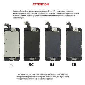 Image 5 - Full Set LCD Display for iPhone 5 5C 5S 6 6S 7 8 Plus LCD Screen 3D Touch Digitizer Assembly Replacement For iPhone 6P 6SP 7P 8P