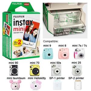Image 5 - Bộ Máy Chụp Ảnh Lấy Ngay Fujifilm Instax Mini Viền Trắng Phim Ảnh Tức Thì Giấy Cho Liplay Liên Kết Liền Polaroid Mini 8 9 7 S 9 70 25 90 SP 1 2 Camera