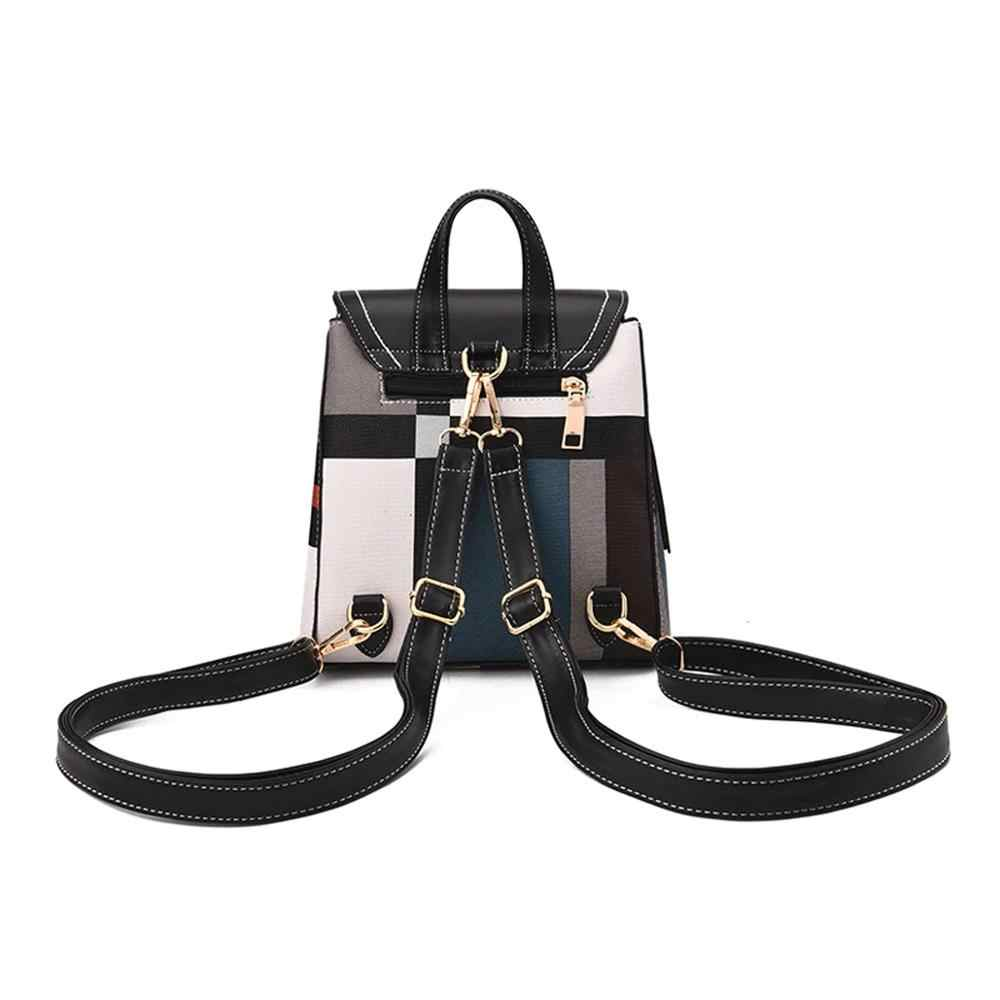 גבוהה באיכות עור מפוצל נשים תרמיל תיק כתף בית ספר תיק עבור בנות בגיל ההתבגרות רב להשתמש Daypack תרמיל תיק יד Crossbody