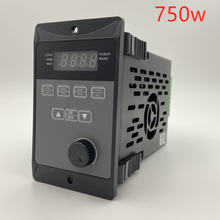 400W 750W frequency converter add RS485 three-phase motor driver MCU T13-400W-12-H single phase input 0.75KW