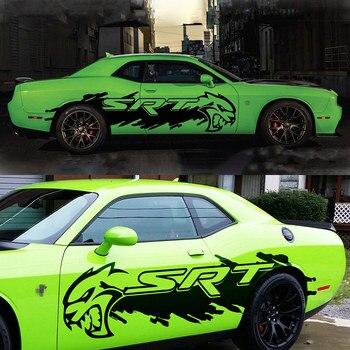 Car modification sticker FOR Dodge Ram Challenger body decoration decoration sticker pull flower