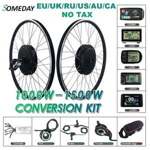 Image 1 - SOMEDAY Electric Bike Conversion Kit 48V1000W 1500W Rear Cassette 20 28 inch 700C Hub Motor Wheel for Bicycle