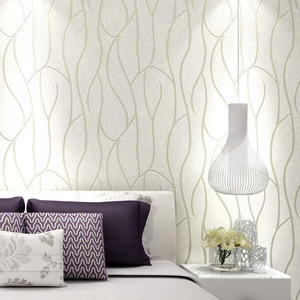 Image 2 - 10M auf woven Tapete Einfache Tapete Rollen Schlafzimmer Esszimmer Wohnzimmer Wand Abdeckt Moderne 3D Wand Papier Home decor