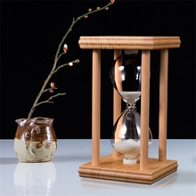 45 / 60 Minutes Hourglass Timer Sand Watch Hourglass Sandglass Sand Cook Clock Children Gift Sand Timer Home Decoration  L1