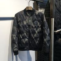 Brand New canada usa style Baseball uniform camouflage down jacket male short section thickening coat