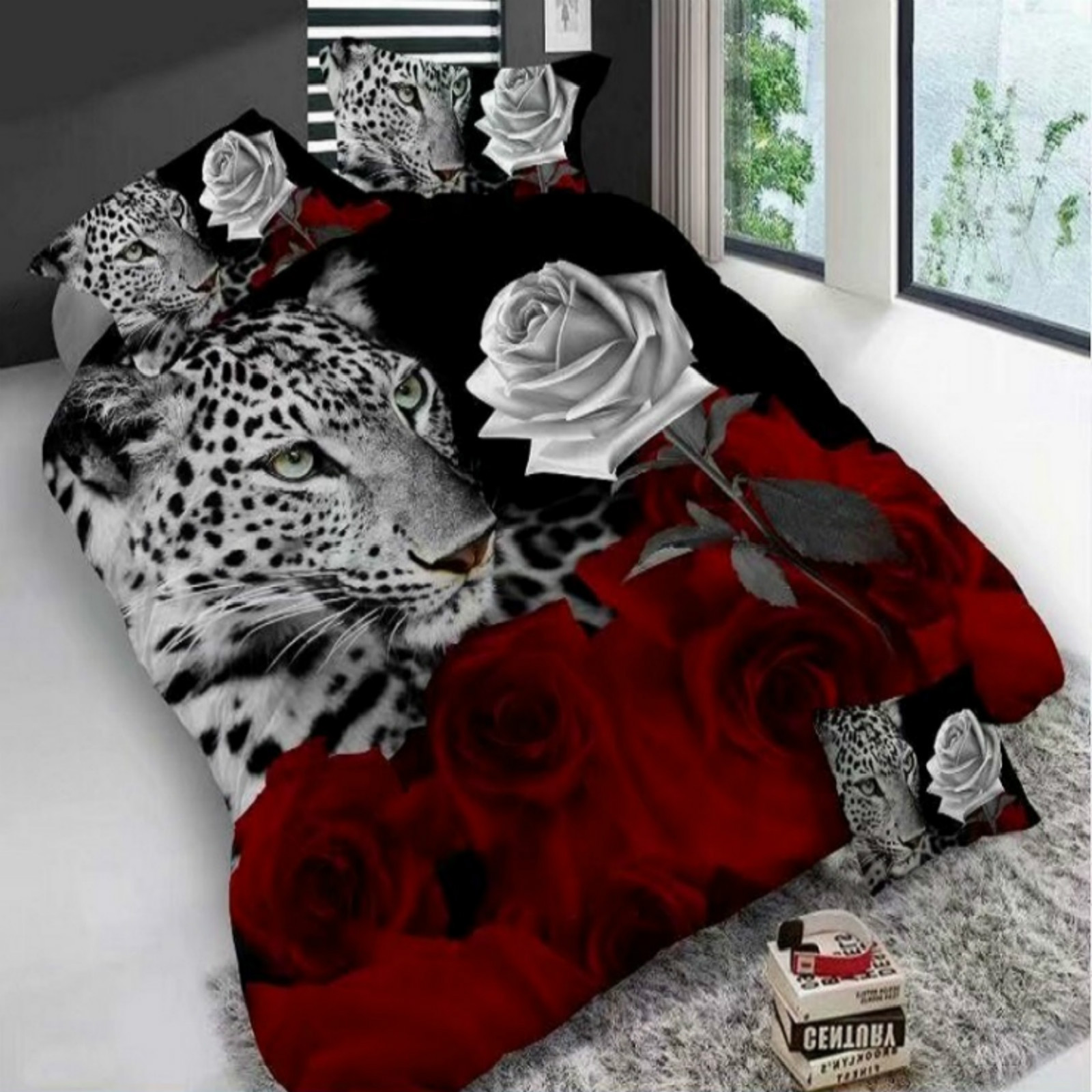 Animal 3D Bedding Set Luxury Soft Comfortable Sets Decor Cat Printed Duvet Pillowcase Polyester Bed Set Home Textiles