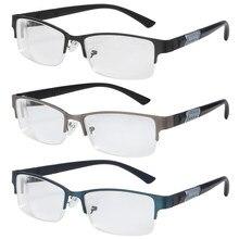 0 -1-1,5-2-2,5-3-3,5-4-4,5-5-5,5-6 miopía gafas hombres mujeres Retro Metal cuadrado marco miopía gafas marco negro