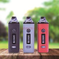Anix Gemini-cigarrillo electrónico con batería de 2200mah, vaporizador de hierbas secas, pantalla OLED, 3 colores
