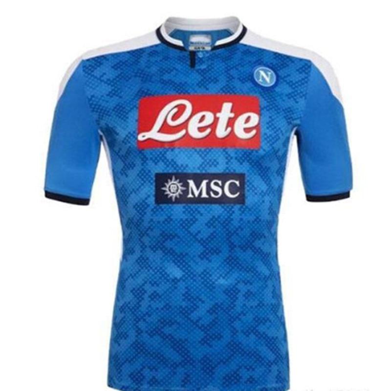 New 2019 2020 Napoli Soccer Jerseys Home Away Third 19 20 Naples KOULIBALY VERDI FABIAN MERTENS LOZANO INSIGNE Football Shirt